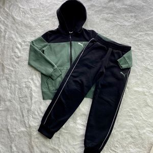 Puma Matching Set of Full ZIP Hoodie & Pants